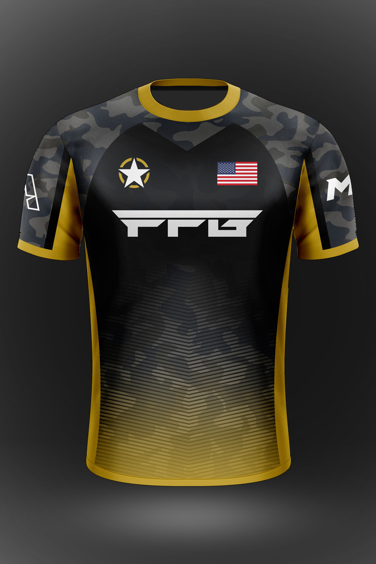 gold jersey